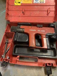 Hilti DX450 Nail Gun With Case