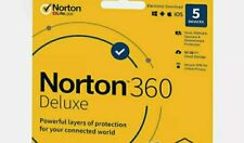 Norton 360 Deluxe 2020 5 Devices 5 PC 90 days Secure Windows, macOS, Android and