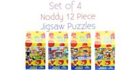 Childrens Noddy Puzzles Set Of 4 Indiviual Jigsaw Puzzles Ideal Gift Idea