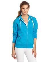 Asics Women's Fleece Hoodie Cyan Blue Size S