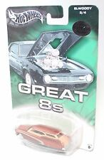 Hot Wheels GREAT 8s LIMITED EDITION COLLECTION ELWOODY COPPER 1:64