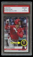 SHOHEI OHTANI TOPPS ALL-STAR 1ST GRADED 10 GOLD ROOKIE CUP MLB CARD ANGELS GEM