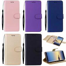 10pcs/Lot Wallet Flip Leather Case For iPhone Samsung LG Huawei Motorola Google