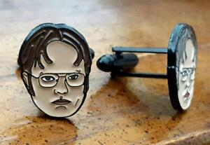 TV Show The Office Dwight Schrute Official Cuff Links Limited Edition Groomsman