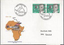 1977 Switzerland  FDC Air in Africa