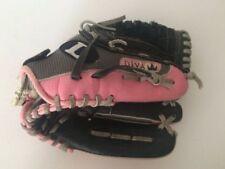 "Louisville Slugger 11"" Diva DV1100 Leather EZ-Loc Leather Softball mitt glove"