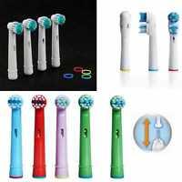 Pack Oferta Recambios Compatibles Con Cepillo de Dientes Electrico Oral B Braun