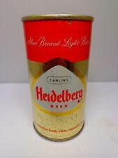 Heidelberg Straight Steel Pull Tab Beer Can #75-11 Tacoma, Washington