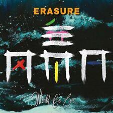 ERASURE  World Be Live  2 CD  NEU & OVP 13.07.2018