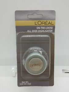 L'Oreal On-The-Loose All Over Highlighter Rainbow Dust .07 Oz.