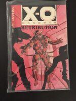 X-O Manowar Retribution TPB Trade Graphic Novel Sealed GEM MINT 9.9/10.0 CL44-42