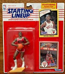 Grade Worthy Much Sought After 1990 Michael Jordan Starting Lineup Chicago Bulls