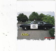 "*Postcard-""An Oldie Police Car""  (XT59)"
