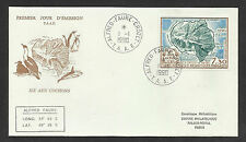 TAAF  FRENCH ANTARCTIC 1990 ISLAND OF COCHONS 1v FDC