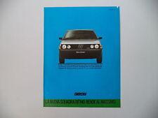 advertising Pubblicità 1984 FIAT RITMO 70 SUPER