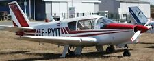RD-03 Edelweiss Homebuilt France Utility Airplane Mahogany Wood Model Large New