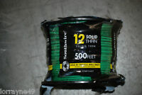 # 12THHN SOLID WIRE GREEN 500' NEW SOUTHWIRE