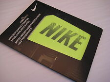 Nike Speed Performance Graphic Doublewide Wristbands NNN25 710 Lime Green