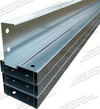 Steel C-Purlins / Z-Purlin Roofing And Cladding Sheets Roof Sheets C Section