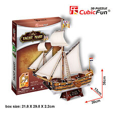 New Yacht Mary 3D Model Ship Jigsaw Puzzle 83 Piece T4010H SO MUCH FUN
