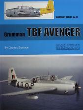 Warpaint Book Series No.87 Grumman TBF Avenger