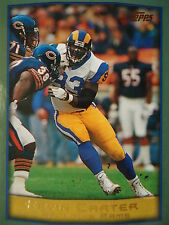 NFL 24 Kevin Carter St. Louis Rams Topps 1999