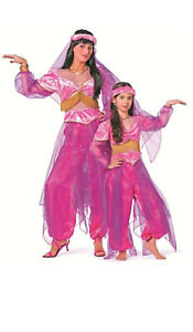 1001 Nacht Kleid Kostüm Damen Bollywood Orient Alibaba Ali Baba Prinzessin Sari