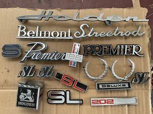 Holden Badges Torana LC LJ Belmont Premier Statesman