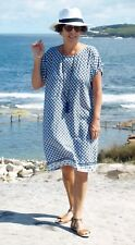 Paper Fig NWT Summer Navy & White Shift Dress Sizes 10,12,14,16,18,20,22,24 PLUS