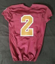 #2 No Name of Washington Redskins Alternate Nike Game Issued Jersey