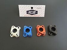 1/5 RC Alloy Intake Manifold & Insulating Gaskets HPI Losi Zenoah ICE0007 BLACK