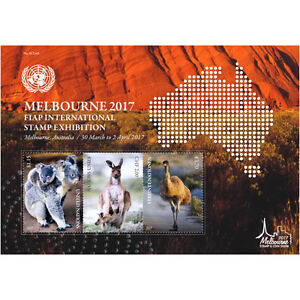 United Nations 2017 Melbourne 2017 ~ M/S Mint