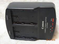 Adaptador de Alimentación Compacto Cargador de DOBLE Canon CA-PS400 para baterías BP-511, BP-512