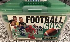 Kaskey Kids Football Guys Game & Mat Blue vs Red 30 Pieces Complete!
