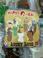 lot jouet figurines LUCKY LUKE Happy meal McDonalds collection 2003
