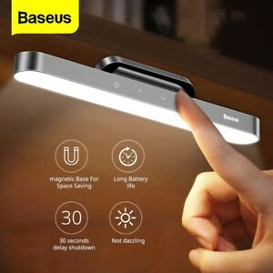 Baseus LED Table Lamp Magnetic Desk Lamp Hanging Wireless Touch Night Light