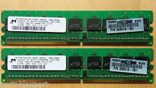 Micron 1GB(2X512) PC2-4200E DDR2 533MHz Desktop Memory Ram MT9HTF6472AY-53EB3
