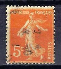 France 1921 type Semeuse fond plein (3) Yvert n° 158 oblitéré 1er choix