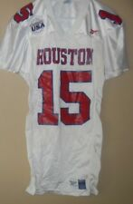 HOUSTON COUGARS GAME USED FOOTBALL JERSEY