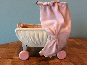 Karl Schreiter Korbi  Kinderwagen Puppenstube Puppehaus 1:12 dollhouse stroller