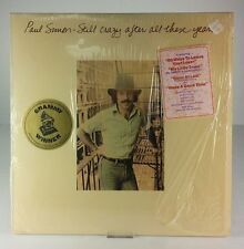 Paul Simon‎–Still Crazy After All These Years EX Vinyl PC 33540 Liner Notes 1975