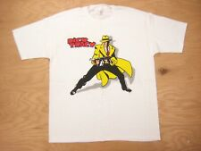 Nos 1990s vtg Dick Tracy white Movie Graphic Tee Xl Single Stitch T-Shirt