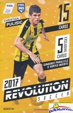 2017 Panini Revolution Soccer EXCLUSIVE Sealed Hanger Box-2 VORTEX+3 SUNBURST
