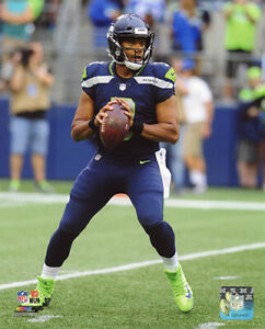 Russell Wilson Seattle Seahawks Authentic 8X10 Photo