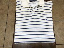 Ralph Lauren Polo s/s shirt size XL white, blue