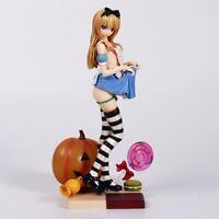 Anime Misaki Kurehito Alice Girl Pumpkin Girl Very Pvc Figure Loose In Box 25cm