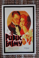 The Public Enemy Lobby Card Movie Poster James Cagney Jean Harlow Edward Woods