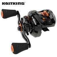 KastKing Zephyr Baitcasting Reel 7.2:1 Shallow High-Speed Aluminum Spool HOT
