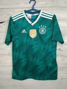 Germany Jersey 2018/19 Away Kids Boys 11-12 years Shirt Trikot Adidas BR3146