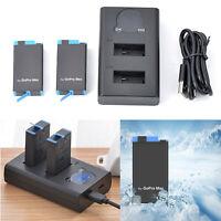 Cargador de Batería Dual Para GoPro MAX Action Camera Charger 1400mAh Battery